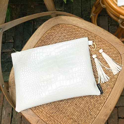 Muse White Clutch /30%SALE/