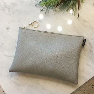 Moment Gray Clutch /30%SALE/