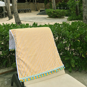 Yellow Stripe - Beach Towel /20%Sale/