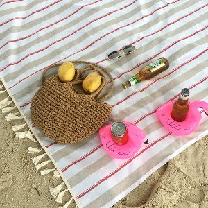 피크닉매트 - Beach Picnic_Red / 30% Sale