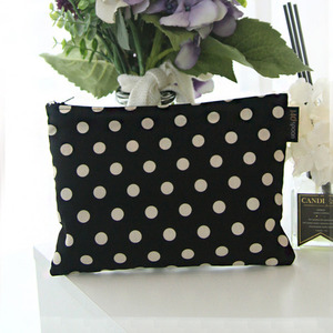 [Pouch] Lovely Dot (Black) /30%SALE/