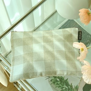 [Pouch] Cozy Check /30%SALE/